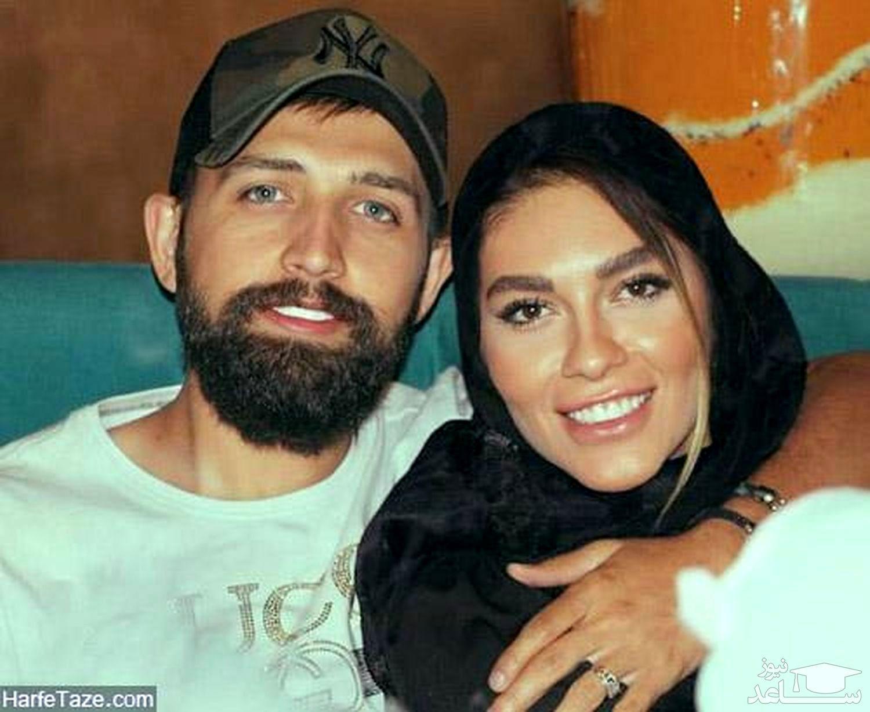 حرکت زشت محسن افشانی و همسرش در آسانسور | ساعدنیوز
