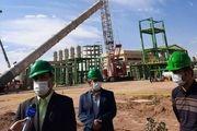 نصب برج تقطیر ساخت داخل نخستین زیست پالایشگاه کشور
