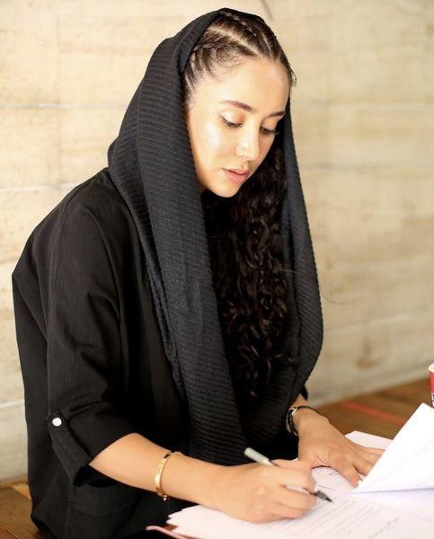 موتور سواری بهاره افشاری   عکس