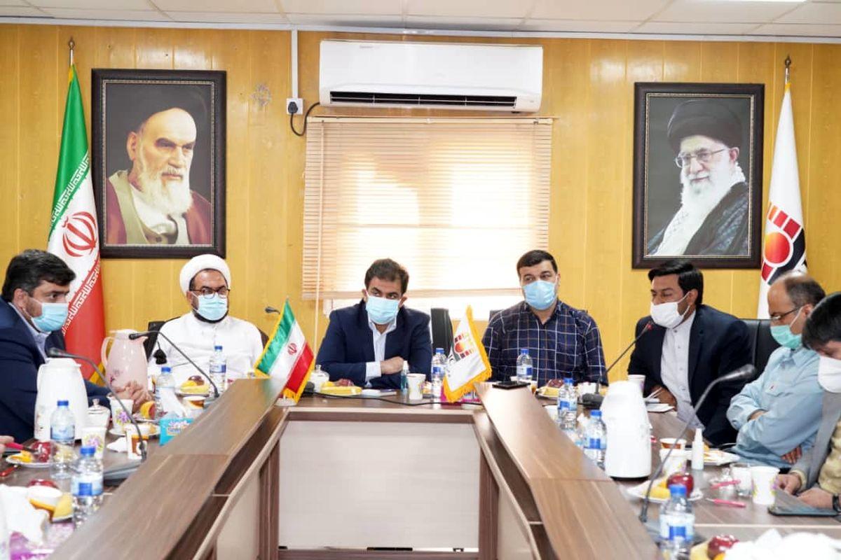 تشکیل کمیته سه جانبه برای تسریع در راه اندازی بخش فولاد سازی شادگان