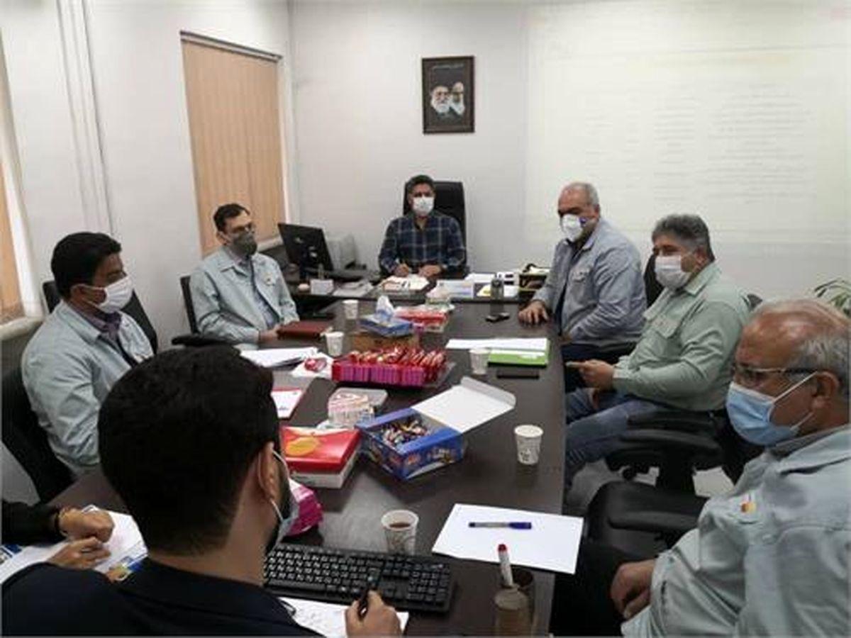 نشست بررسی فرآیند بهینه جهت استقرار نظام خلاقیت و نوآوری در شرکت فولاد خوزستان