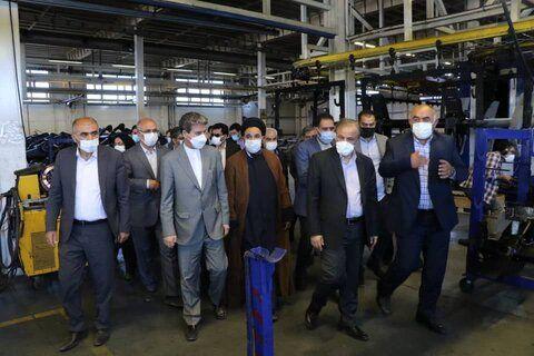 افتتاح ۷۵۰۰ میلیارد ریال طرح، رهاورد سفر وزیر صمت به آذربایجان غربی