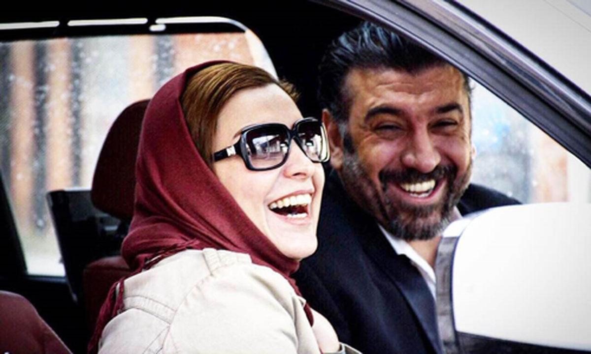 ویدیو لورفته از دستگیری علی انصاریان و دوست دخترش + فیلم