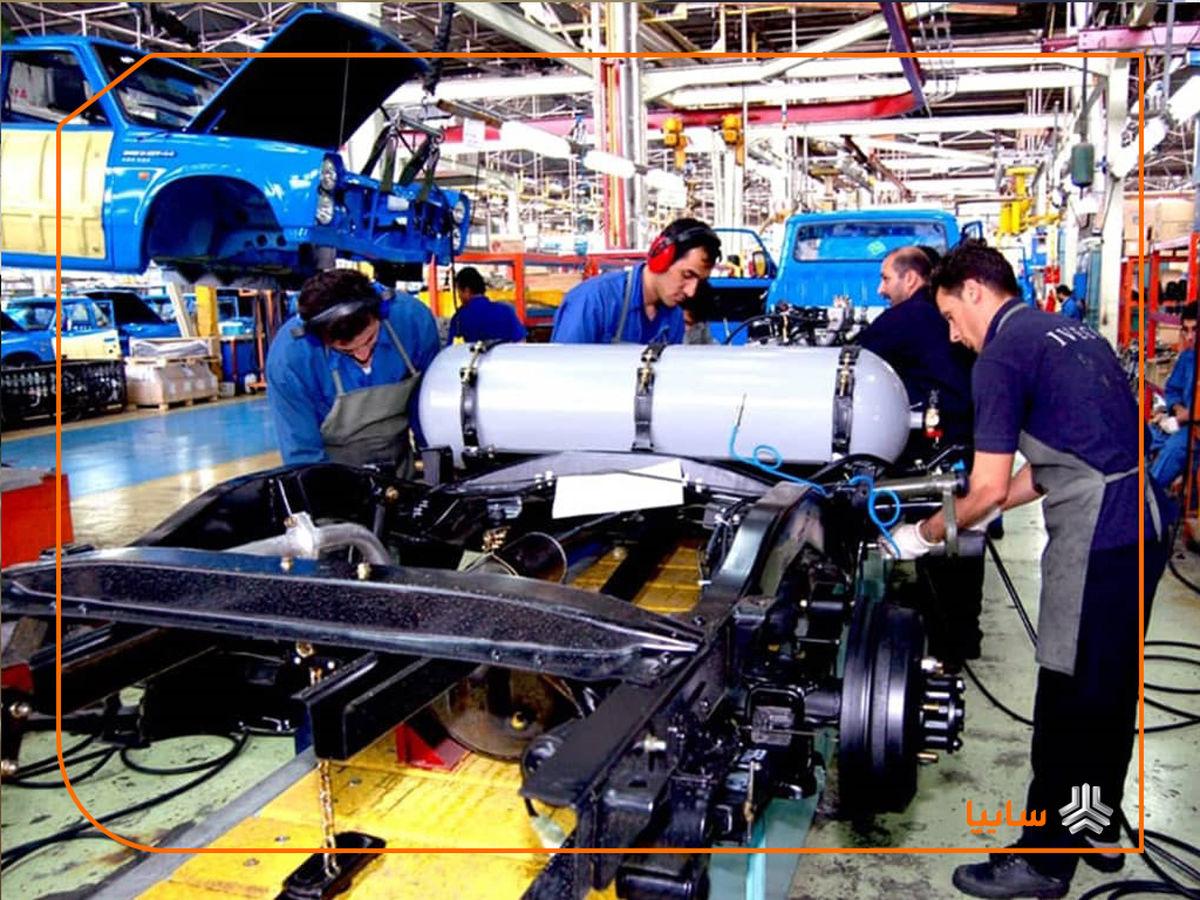 رشد 12 درصدی تولید خودرو در شرکت زامیاد