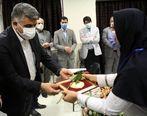 قدردانی سرپرست سازمان منطقه آزاد انزلی از تلاش های کادر درمان بیمارستان بندر انزلی