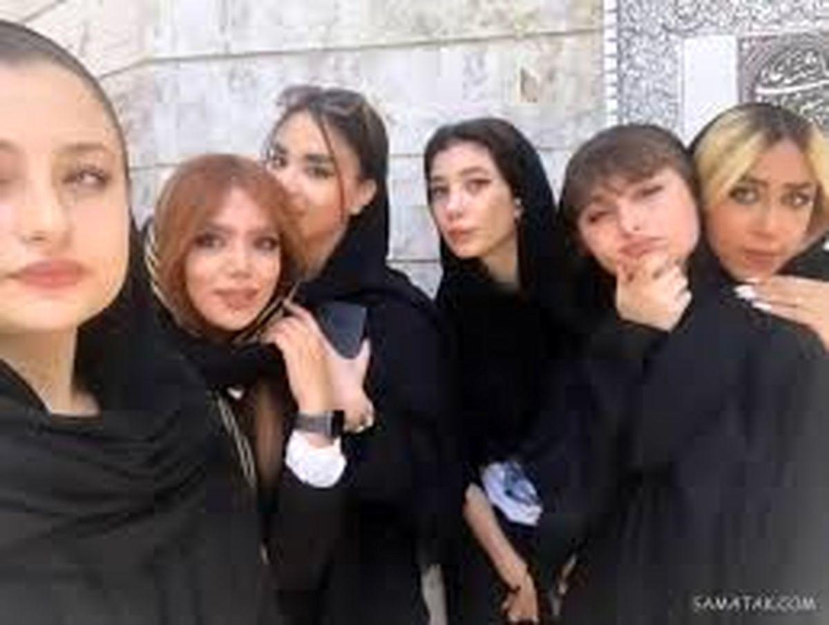 ارایش غلیظ و بدون حجاب سارا و نیکا جنجالی شد + فیلم دیده نشده