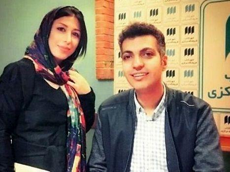 عادل فردوسی پور از همسرش رونمایی کرد + عکس دیده نشده