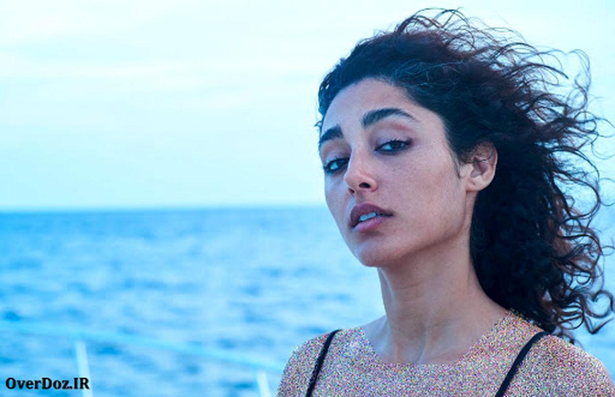 رقص نامتعارف گلشیفته فراهانی با گوگوش + فیلم لورفته