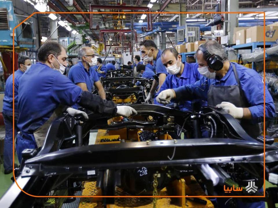 رکورد تولید زامیاد پس از ۹ سال شکسته شد/ تولید ماهیانه در زامیاد از مرز ۴۲۰۰ دستگاه گذشت