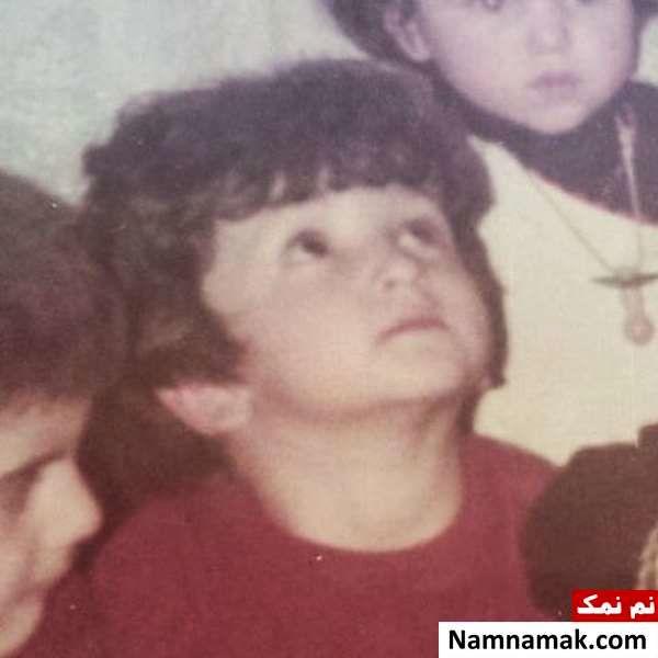 عکس کودکی روناک یونسی