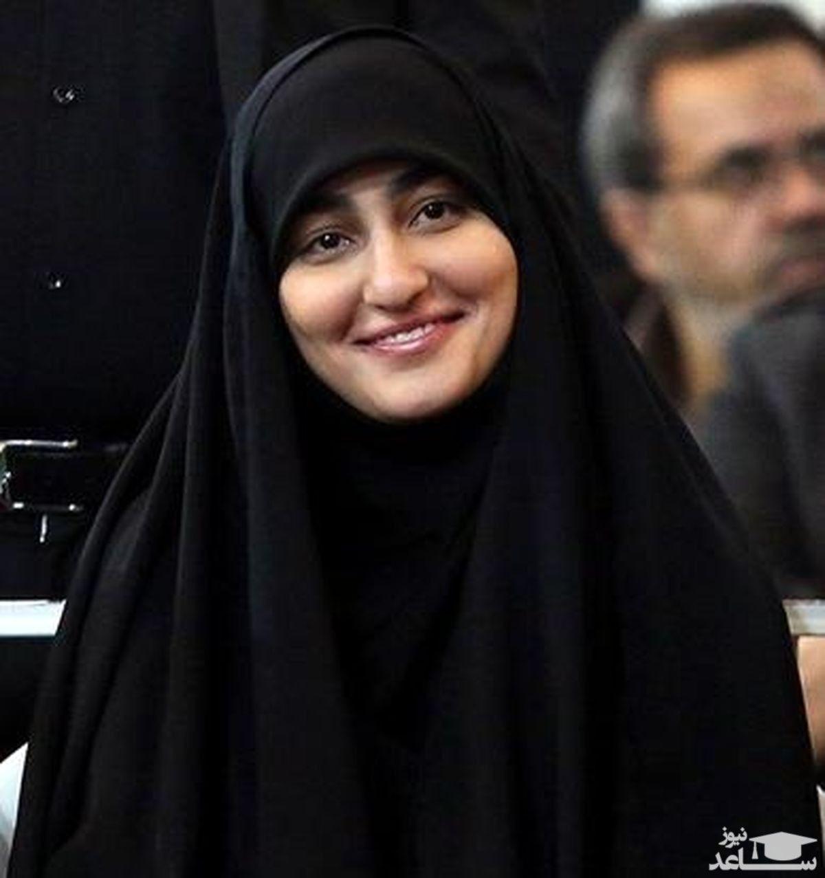 پست معنادار زینب سلیمانی در اینستاگرام + عکس همسرش