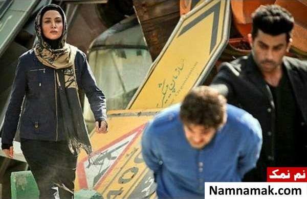 روناک یونسی و همسرش محسن میری در سریال سقوط آزاد