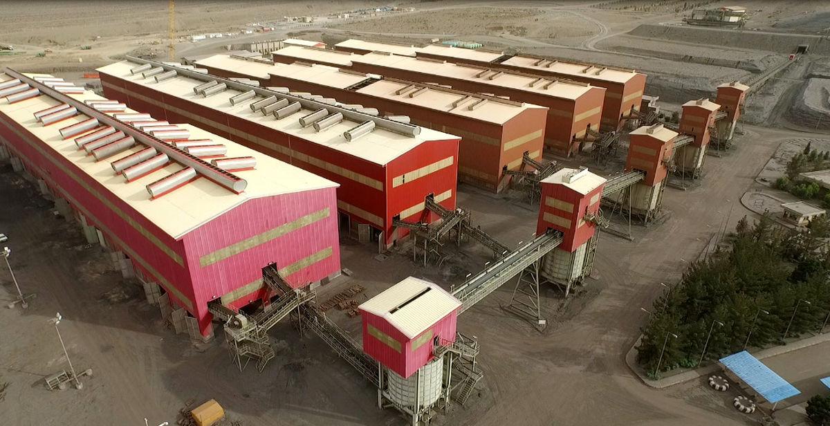 شکستن رکورد تولید کنسانتره آهن در چادر ملو