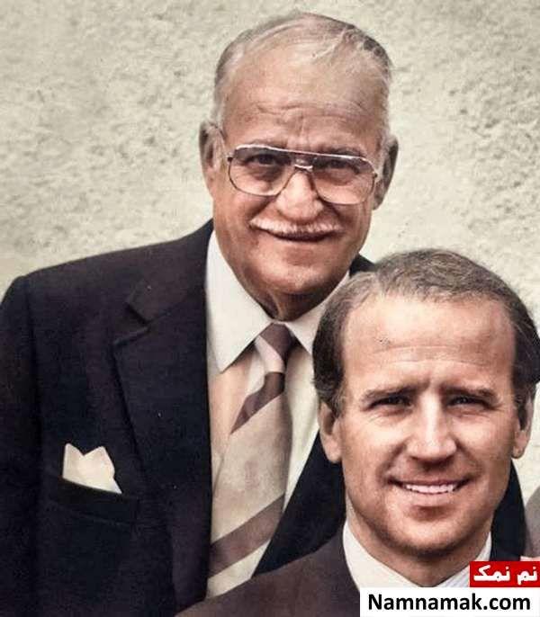 جو بایدن و پدرش