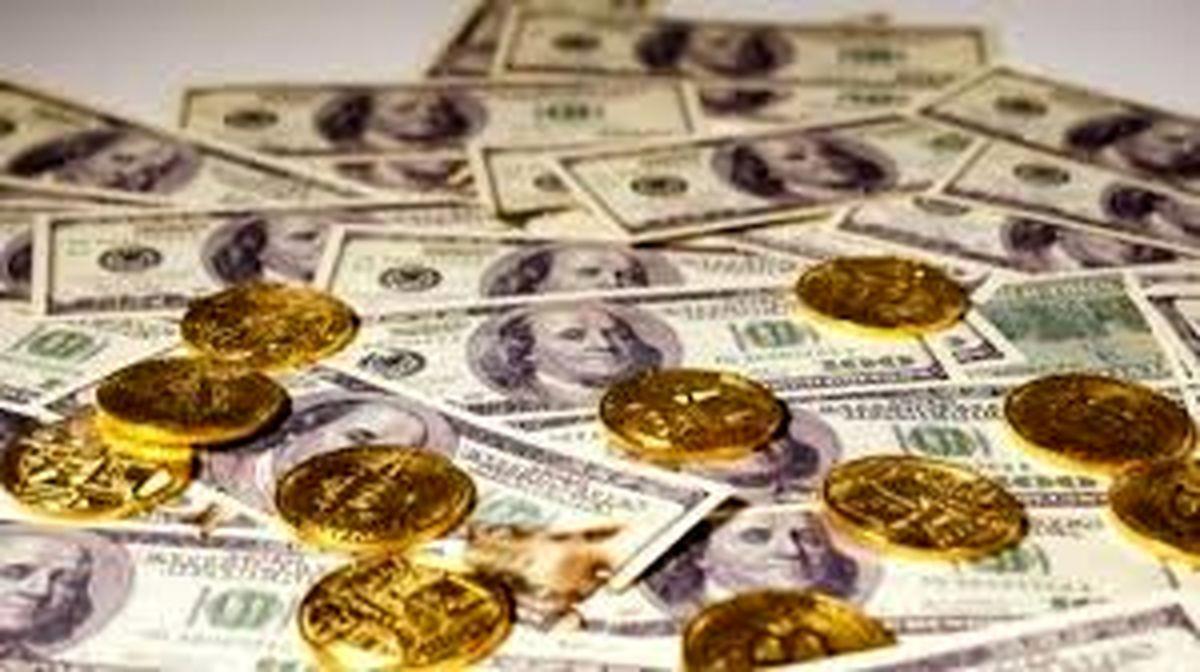 نرخ ارز دلار سکه طلا یورو   یکشنبه 25 آبان   99/8/25