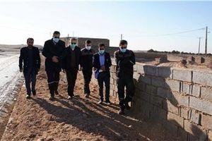 بازدید مدیرعامل مجتمع سنگ آهن سنگان از روستای گوریاب