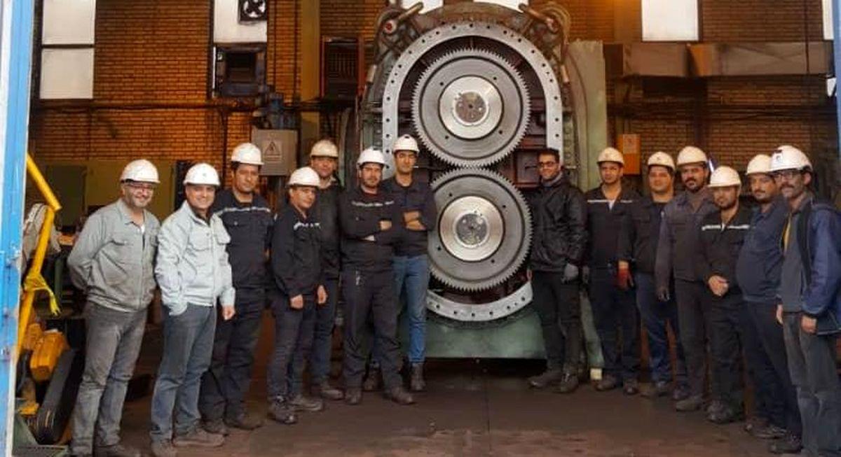 تجلی خودباوری در تعمیر و نگهداری کمپرسورهای فرایند «احیا» در فولاد خراسان