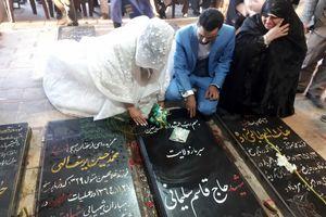 علت ازدواج دختر سردار سلیمانی + عکس دیده نشده