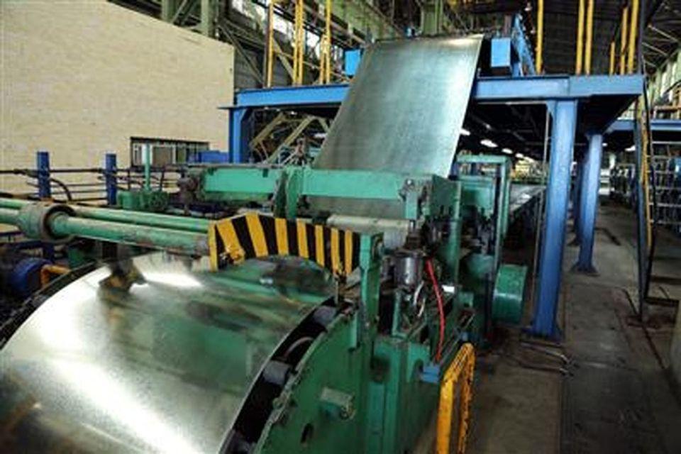 عبور از مرز تولید ماهانه ۲۱هزار و ۵۵تن ورق فولادی در شرکت فولاد امیرکبیر کاشان