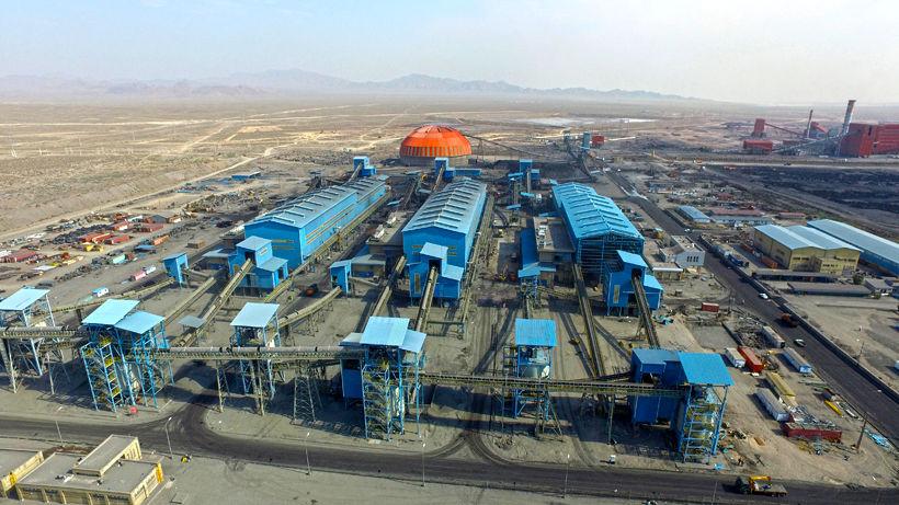 تولید بیش از 40 میلیون تن کنسانتره آهن در شرکت های بزرگ
