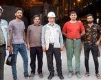 بازدید سرزده مدیرعامل آهن و فولاد ارفع از واحدهای عملیاتی