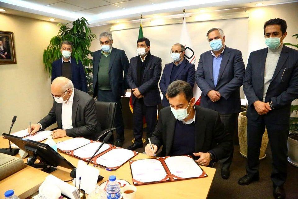 امضای قرارداد کارخانه دوم کنسانتره سنگ آهن اُپال پارسیان