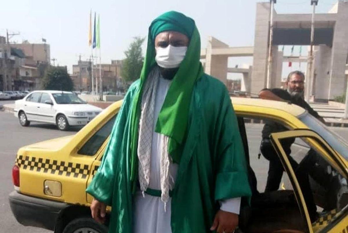 امام زمان قلابی در ماهشهر دستگیر شد + تصاویر