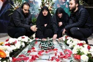 دختر سردار سلیمانی از همسرش رونمایی کرد + عکس