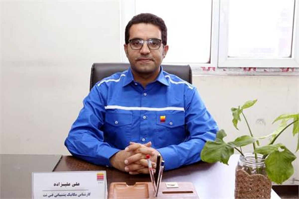 کسب عنوان مقاله برتر از سوی کارشناس شرکت فولاد خوزستان