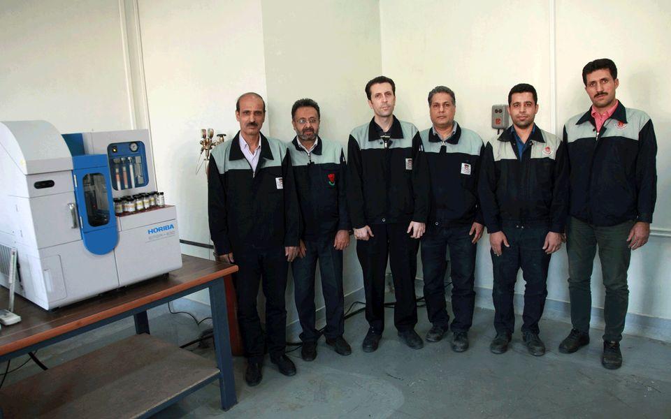 ساخت مواد مرجع آزمایشگاهی (RM) در آزمایشگاه متالوگرافی مدیریت آزمایشگاه مرکزی ذوب آهن اصفهان