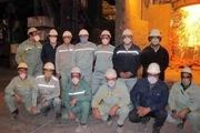 ثبت رکورد عمر نسوز پاتیل در مجتمع فولاد سبا